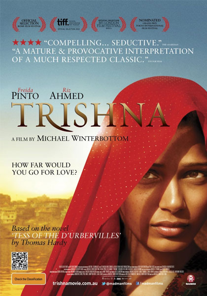TRISHNA (2011) dir. Michael Winterbottom